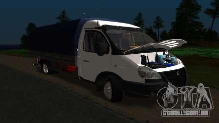 Gazela 3302 Longo para GTA San Andreas