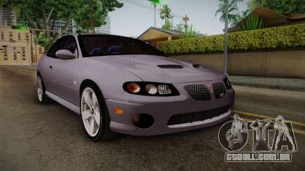 Pontiac GTO Hot Wheels NASCAR PJ para GTA San Andreas