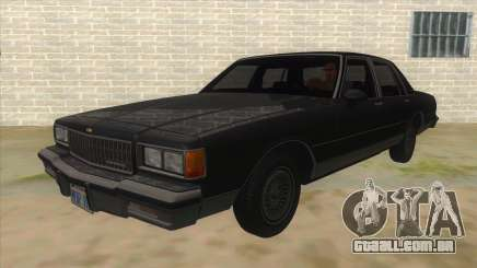 Chevrolet Caprice Brougham 1986 para GTA San Andreas