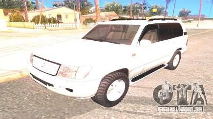 Toyota Land Cruiser 100 SUV para GTA San Andreas