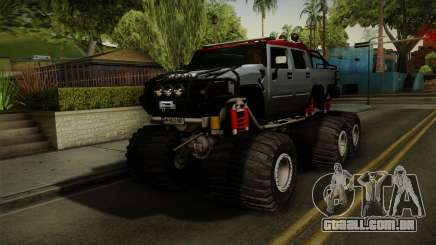 Hummer H2 6x6 Monster para GTA San Andreas