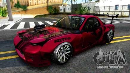 Mazda RX-7 Madbull Rocket Bunny para GTA San Andreas