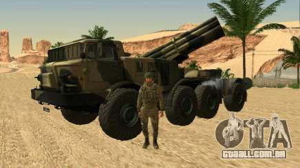 9К57 Furacão para GTA San Andreas