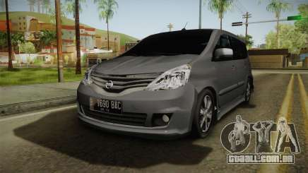 Nissan Grand Livina Highway Star para GTA San Andreas