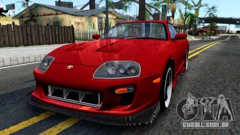 Toyota Supra Mk.IV A80 para GTA San Andreas