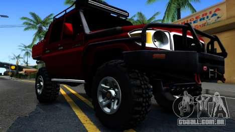 Toyota Land Cruiser 70 Off-Road V2.0 para GTA San Andreas