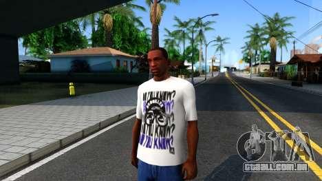 Nike Air Jordan S.O.M. Do You Know T-Shirt White para GTA San Andreas