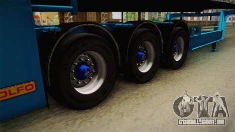 Car Trailer JTZ para GTA San Andreas