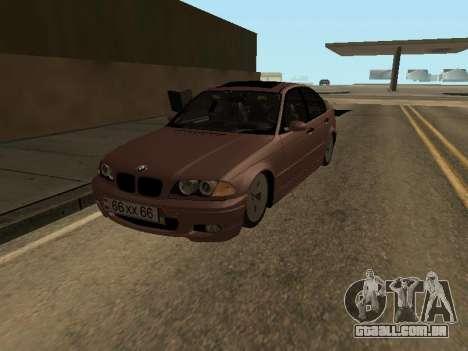 BMW 320i Armenian para GTA San Andreas
