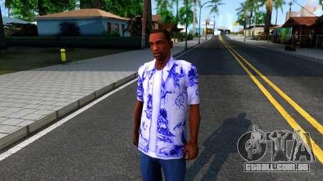 New Hawaii Shirt para GTA San Andreas