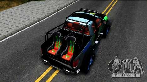 Ford F-150 SVT RaptorTRAX 2012 Ken Block para GTA San Andreas