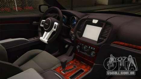 Chrysler 300C 2012 para GTA San Andreas