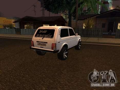 Niva 2121 Armenian para GTA San Andreas
