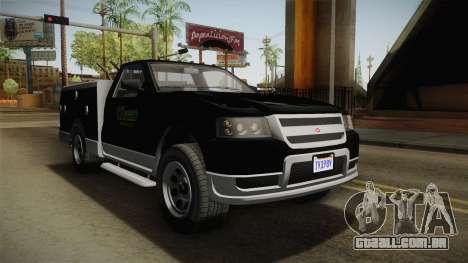 GTA 5 Vapid Utility Van para GTA San Andreas