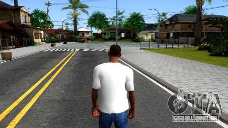 Nike Air Jordan S.O.M. Do You Know T-Shirt White para GTA San Andreas