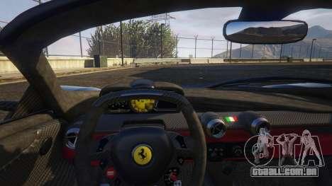 GTA 5 Ferrari LaFerrari Aperta 2017 vista lateral direita