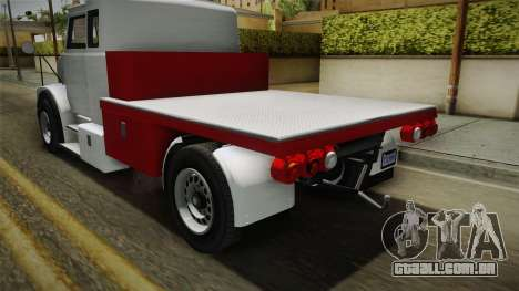 GTA 5 Brute Utility Truck IVF para GTA San Andreas