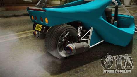 GTA 5 BF Raptor IVF para GTA San Andreas