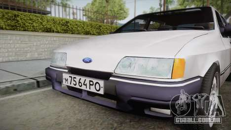 Ford Sierra Tournier 2.3D CL 1988 para GTA San Andreas