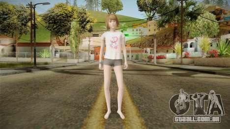 Life Is Strange - Max Caulfield PJ Skull para GTA San Andreas