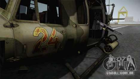 Bell UH-1N Russian para GTA San Andreas