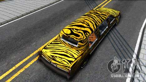 STReTTTcH LoWriDEr para GTA San Andreas vista traseira