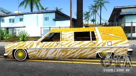 LoW RiDeR RoMeR0 para GTA San Andreas esquerda vista