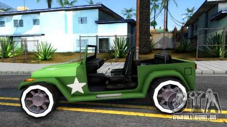 Rat Rod Mesa para GTA San Andreas