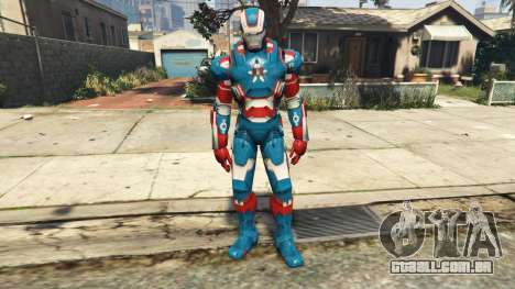 Iron Man Patriot para GTA 5