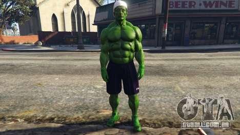 The Hulk with eyes para GTA 5