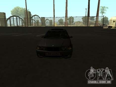 BMW 320i Armenian para GTA San Andreas vista direita