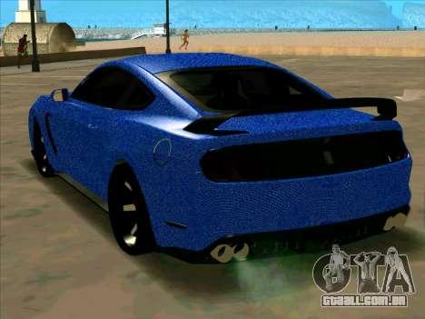 Ford Mustang BLUE STYLE para GTA San Andreas