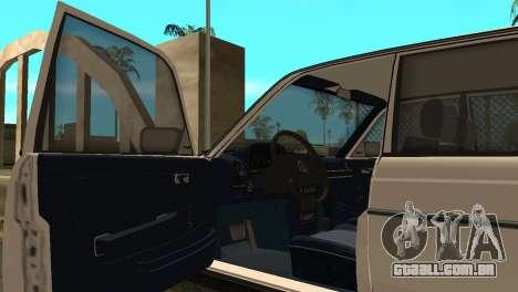 Mersedes-Benz E123 Armenia para GTA San Andreas