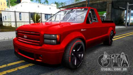 GTA V Vapid Sadler Racing para GTA San Andreas