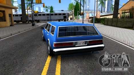 Premier Wagon para GTA San Andreas