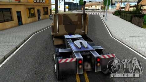Semi BarraCKS GTA V para GTA San Andreas