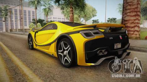 Spania GTA Spano 2016 para GTA San Andreas