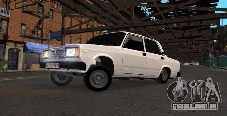 VAZ 2107 AZELOW para GTA 4