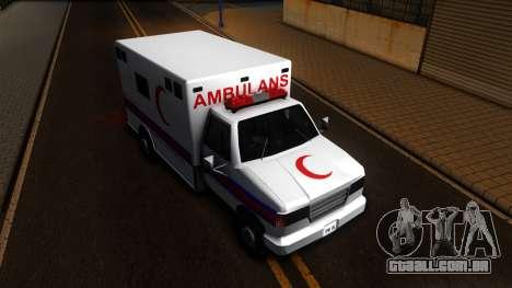 Ambulance Malaysia para GTA San Andreas vista direita