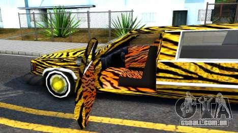 STReTTTcH LoWriDEr para GTA San Andreas vista interior