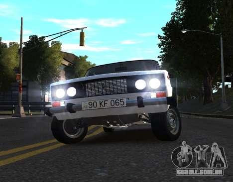 VAZ 2106 azelow para GTA 4