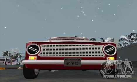 VAZ 2101 de neve versão para GTA San Andreas