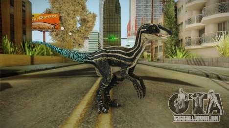 Primal Carnage Velociraptor Blue Tailed para GTA San Andreas