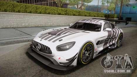 Mercedes-Benz AMG GT3 2016 PJ para GTA San Andreas