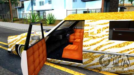 LoW RiDeR RoMeR0 para GTA San Andreas vista interior