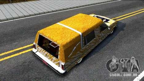 LoW RiDeR RoMeR0 para GTA San Andreas vista traseira