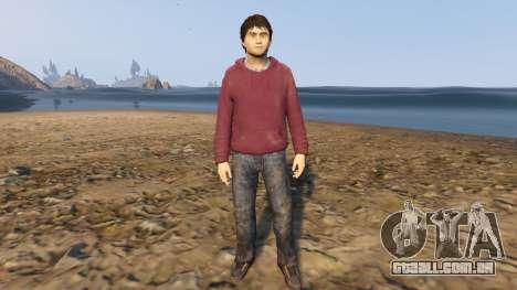 Harry Potter no-glasses para GTA 5