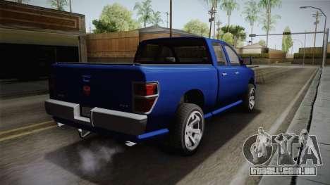 GTA 5 Bravado Bison para GTA San Andreas