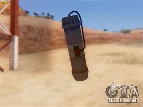 GTA 5 Pipe Bomb para GTA San Andreas