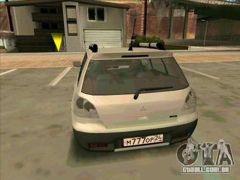 Mitsubishi Outlander Greddy para GTA San Andreas